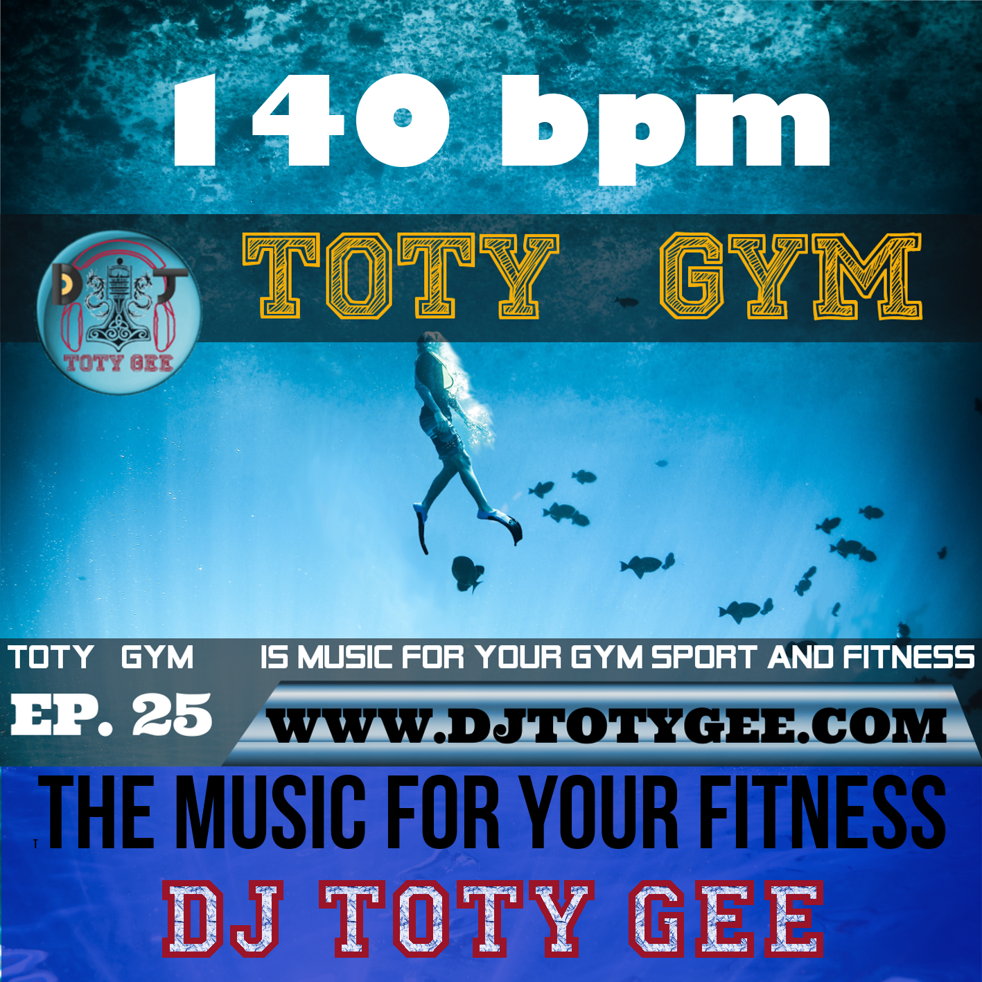 TOTY GYM Ep. 25 For your Gym, Sport and Fitness