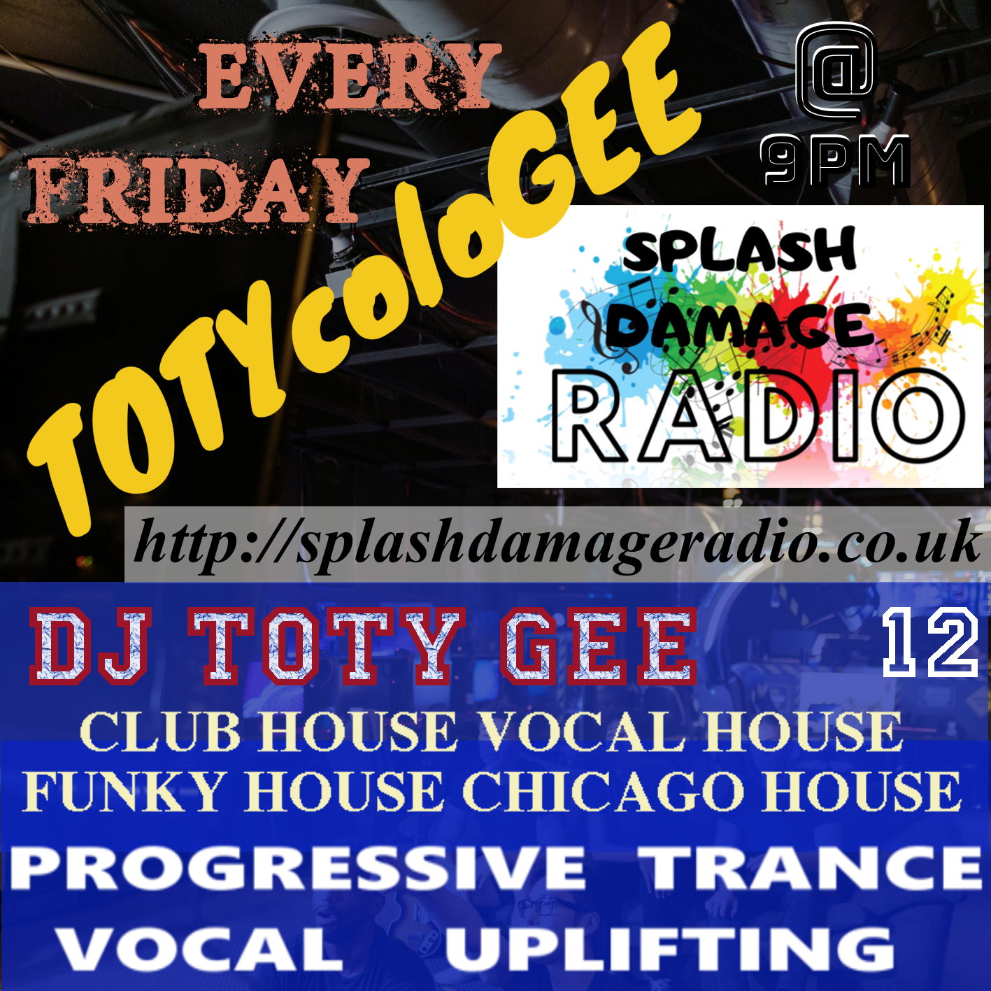 TOTYcoloGEE on SplashDamageRadio ep. 12