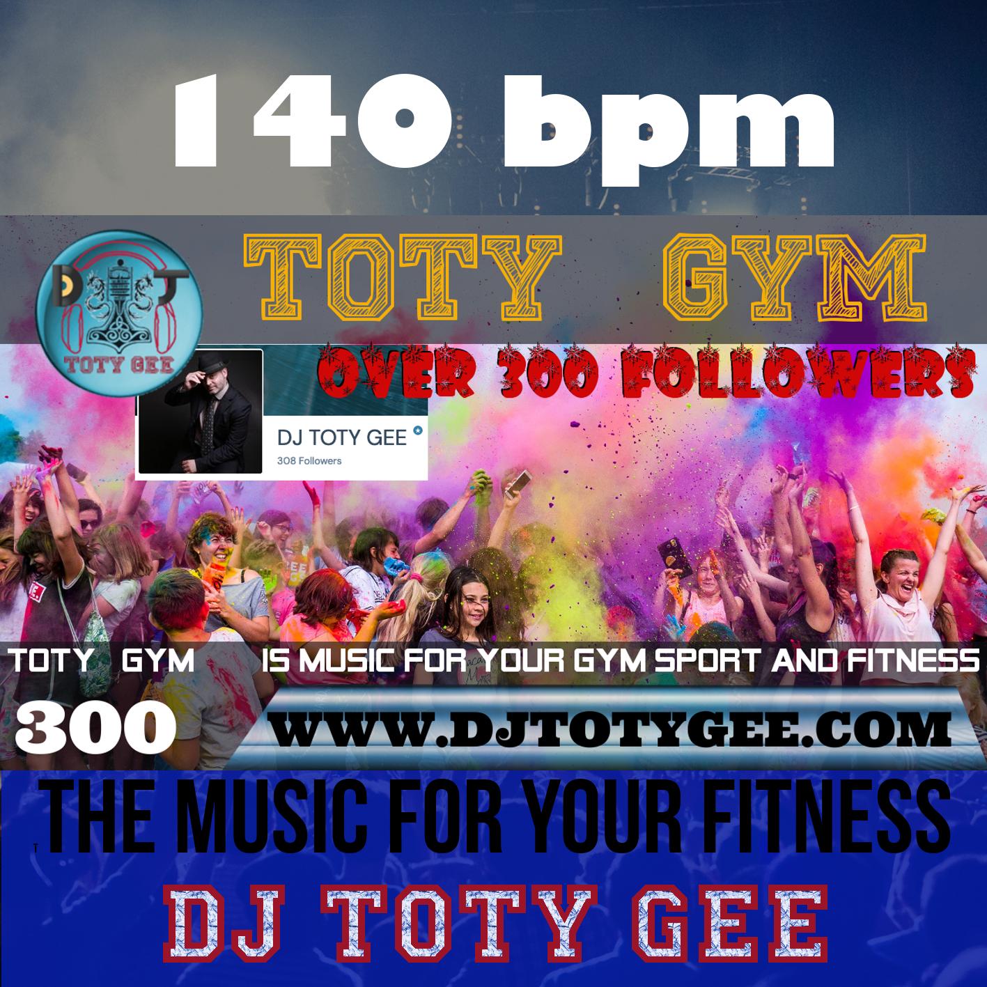300 Followers TOTY GYM
