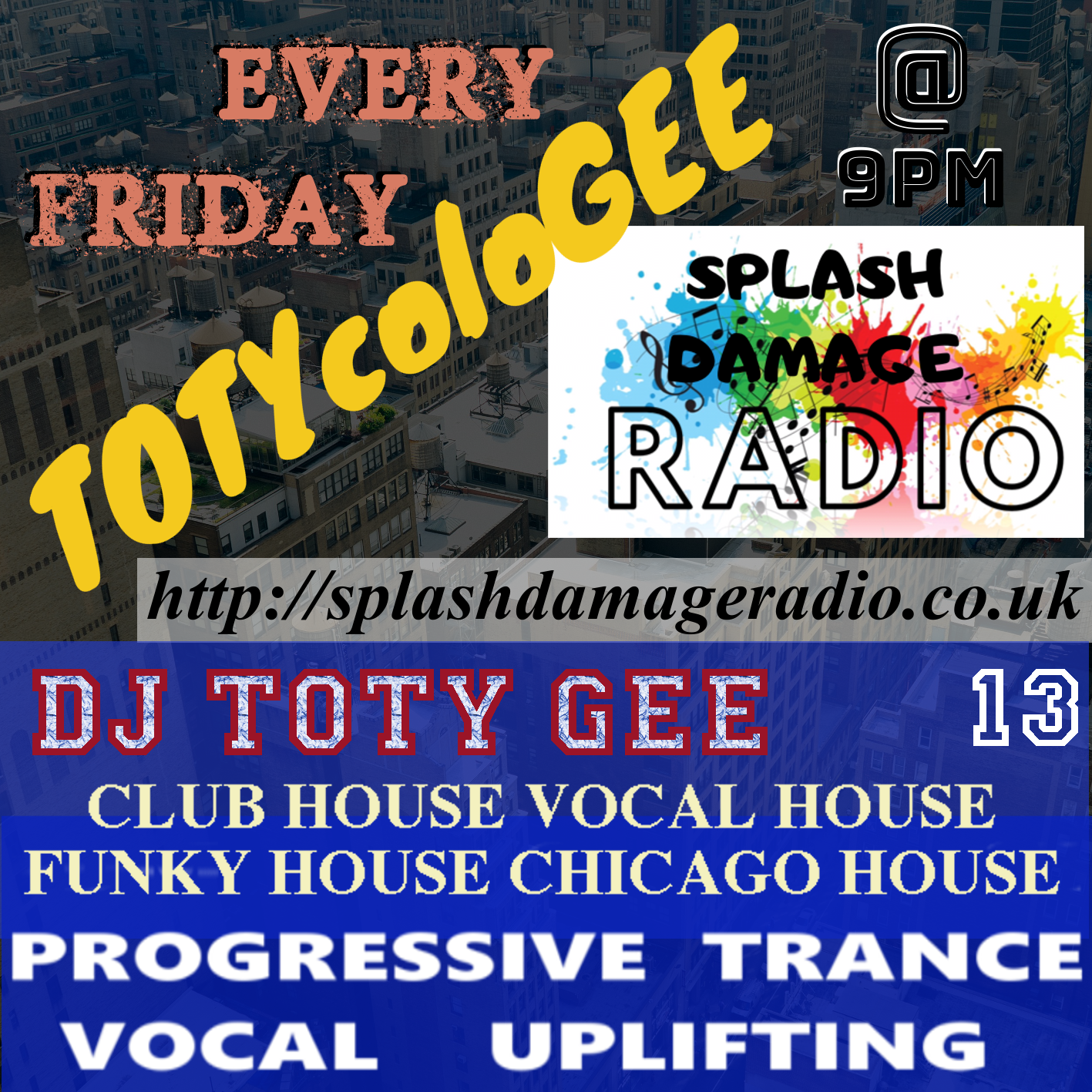 TOTYcoloGEE on SplashDamageRadio ep. 13