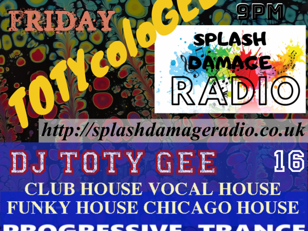 TOTYcoloGEE on SplashDamageRadio ep. 16